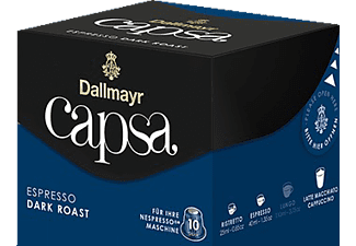 DALLMAYR Capsa Espresso Dark Roast Kaffeekapseln (Nespresso)