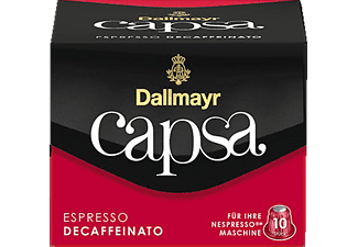 DALLMAYR Capsa Espresso Decaffeinato Kaffeekapseln (Nespresso)