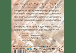 Ingar Bergby, Royal Norwegian Navy Band - Symphonies of Wind Instruments  - (Blu-ray Audio)