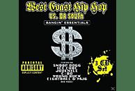 VARIOUS - WEST COAST HIP HOP VS. DA SOUTH [CD]