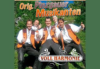 Original Pinzgauer Musikanten - Voll Harmonie  - (CD)