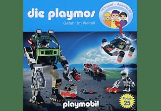 Die Playmos - (25)Gefahr im Weltall  - (CD)