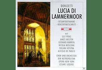 Metropolitan Opera Orchestra & Chorus - Lucia Di Lammermoor (Ga)  - (CD)