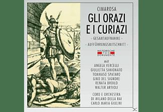 Coro E Orch.Di Milano Della Ra - Gli Orazi E I Curiazi  - (CD)