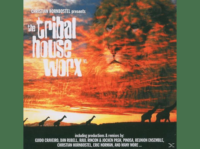 Christian Hornbostel - tribal house worx vol.1 [CD]