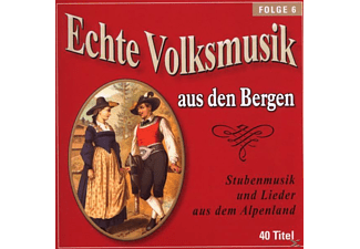 VARIOUS - Echte Volksmusik Aus Den Bergen 6  - (CD)