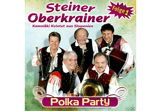 Steiner Oberkrainer, Steiner Oberkrainer-kamniski Kvintet Aus Slovenien - Polka Party Folge 1  - (CD)