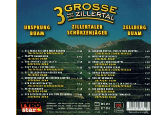 VARIOUS - 3 Grosse Aus Dem Zillertal  - (CD)