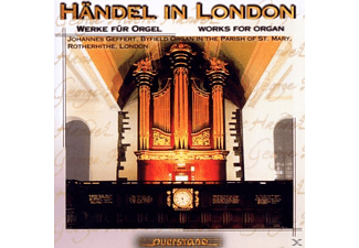 Johannes Geffert - Händel In London - (CD)