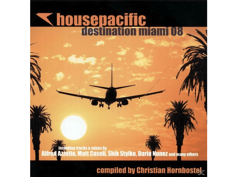 Hornbostel - housepacific destination miami 08 [CD]