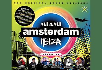 VARIOUS - Miami Amsterdam Ibiza  - (CD)