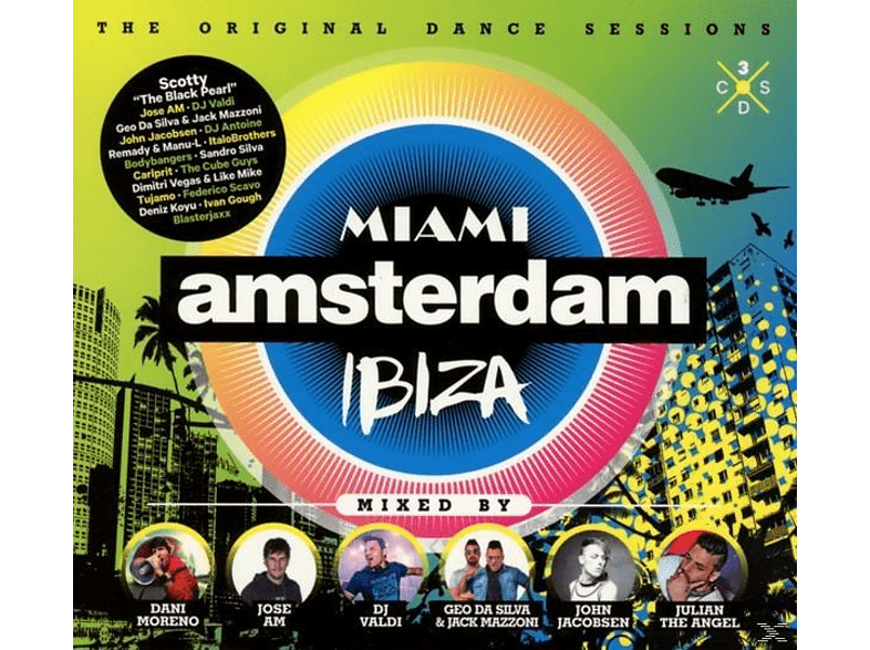 VARIOUS - Miami Amsterdam Ibiza [CD]