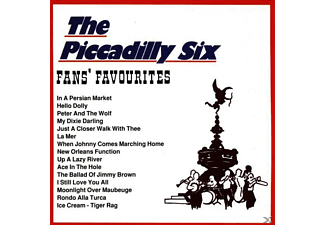 The Piccadilly Six - Fans  Favourites  - (CD)