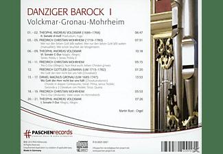 Martin Rost - Danziger Barock I  - (CD)