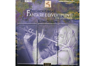 Elena Cecconi - Fantasie e Divertimenti - (CD)