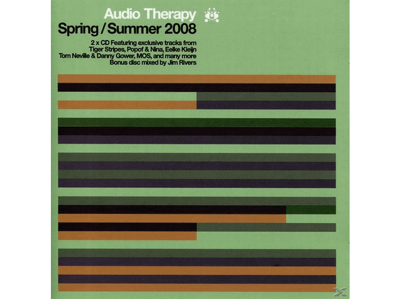 VARIOUS - Audio Therapy: Spring/Summer 2008 [CD]