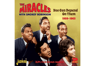 The Miracles - You Can Depend On Them  - (CD)