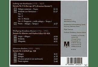 Franziska Pietsch, Detlev Eisinger - Violinsonaten  - (CD)
