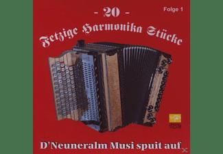 Neuneralm Musi - 20 Fetzige Harmonika Stücke 1  - (CD)