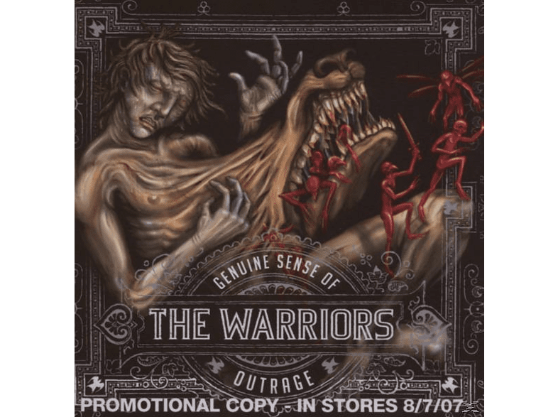 The Warriors - Genuine Sense Of Outrage [CD]
