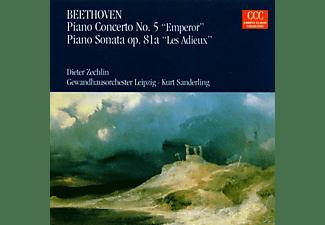 Gol, K. Sanderling, D. Zechlin - Klavierkonz.5/Klav.Son.op.81a  - (CD)