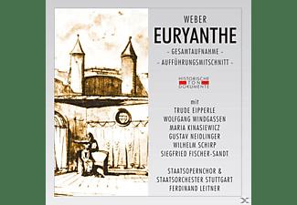 Staatsopernchor, Staatsorch.Stuttgart - Euryanthe (Ga)  - (CD)