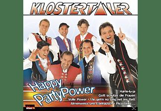 Klostertaler - Happy Party Power  - (CD)