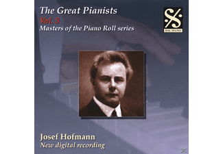 Josef Hofmann - Great Pianists Vol.5/Hofmann - (CD)