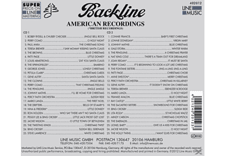 VARIOUS - Backline Xmas Edition 2012  - (CD)