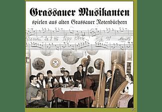 Grassauer Musikanten - spielen aus alten Grassauer Notenbüchern  - (CD)