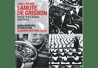 Brotons/Banda Municipal de Barcelona - Obres per a Banda Simfonica  - (CD)