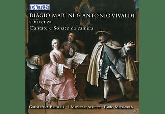 Bridelli/Missaggia/I Musicali Affetti - Biagio Marini & Antonio Vivaldi A Vicenza  - (CD)