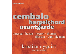Kristian Nyquist - Cembalo Avantgarde  - (CD)