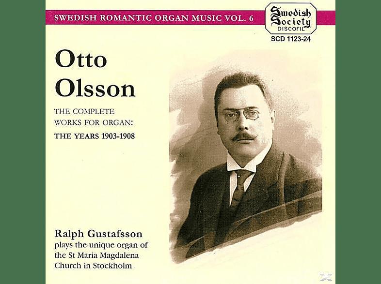 Ralph Gustafsson - Komplette Orgelwerke [CD]
