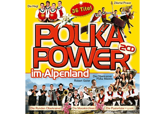 VARIOUS - POLKAPOWER IM ALPENLAND  - (CD)