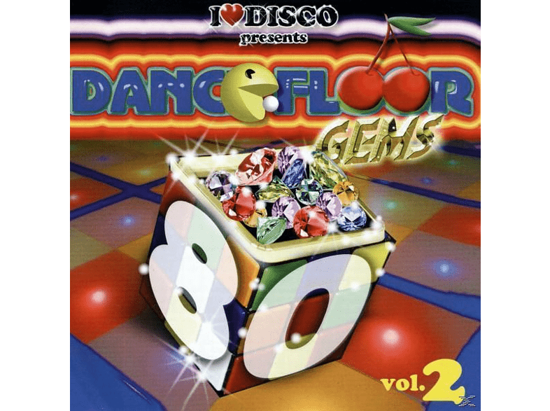 VARIOUS - I Love Disco-Dancefloor Gems 80s Vol.2 [CD]