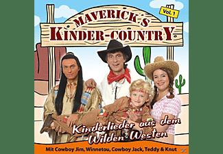 Maverick's Kinder Country - Kinderlieder aus dem Wilden Westen  - (CD)