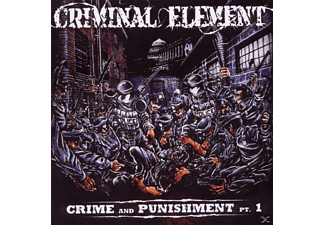 Criminal Element - CRIME AND PUNISHMENT 1  - (CD)