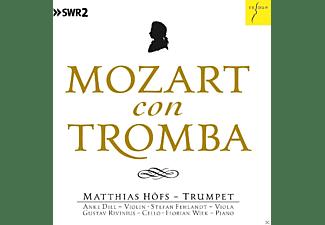 Matthias Höfs, Anke Dill, Stefan Fehlandt, Gustav Rivinius, Florian Wiek - Mozart Con Tromba  - (CD)