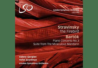 Valéry Gergiev, Yefim Bronfman, London Symphony Orchestra - Feuervogel/Der Wunderbare Mandarin/+  - (CD)