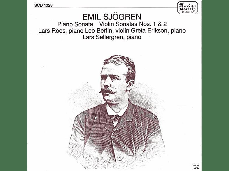 Leo Berlin, Greta Eriksson - Klaviersonate/Violinsonaten [CD]