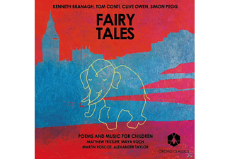VARIOUS - Fairy Tales-Poems And Music For Children  - (CD)