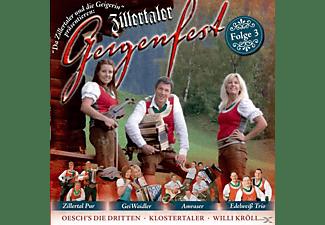 Da Zillertaler Und Die Geigerin - Zillertaler Geigenfest, Folge 3  - (CD)