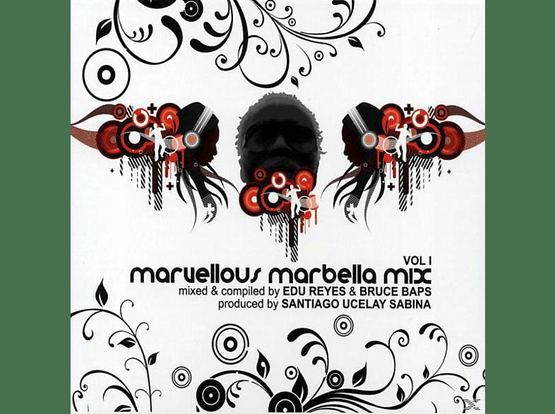 VARIOUS - maruellous marbella mix vol.1 [CD]