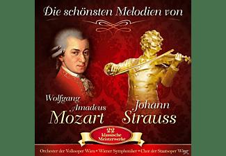 VARIOUS - Die Schönsten Melodien v.W.Amadeus Mozart  - (CD)