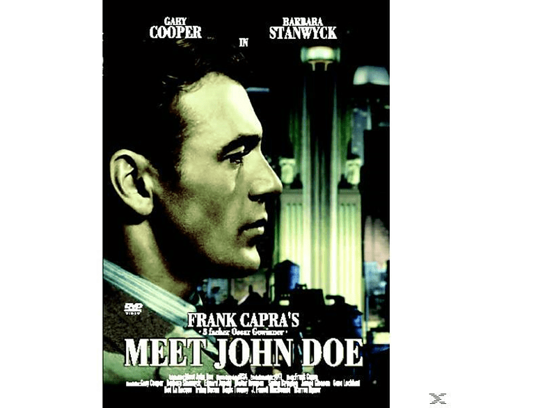 Frank Capras - Meet John Doe [DVD]