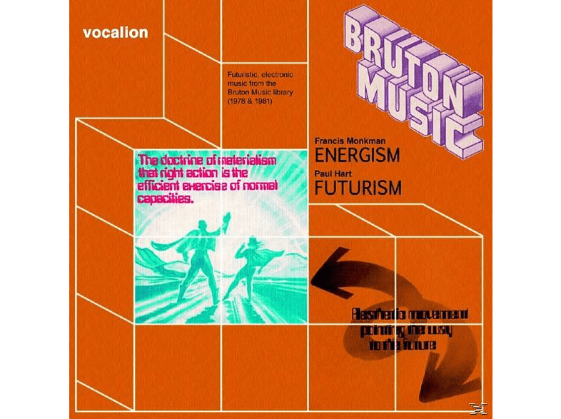 Monkman,Francis/Hart,Paul - Bruton Music: Energism & Futurism [CD]