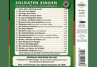 Diverse Orchester Und Ensembles - Soldaten Singen  - (CD)