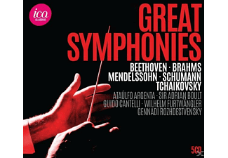 Diverse Klassik - Great Symphonies - (CD)