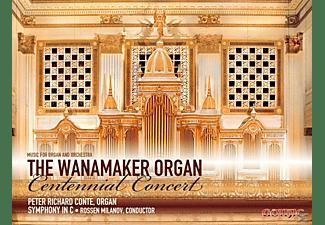 Conte/Milanov/Symphony in C - Wanamaker Organ Centennial Concert  - (CD)